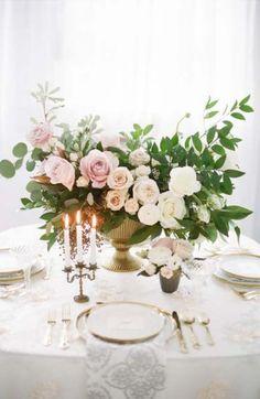 Ideas For Wedding Winter Centerpieces Floral Arrangements Wedding Reception Schedule, Wedding Reception Flowers, Wedding Reception Centerpieces, Wedding Table Settings, Floral Wedding, Wedding Bouquets, Trendy Wedding, Reception Ideas, Wedding Colors