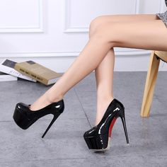 Platform pumps – High Fashion For Women Black Stiletto Heels, White High Heels, Super High Heels, Sexy High Heels, Womens High Heels, High Heel Sneakers, High Heel Boots, High Heel Pumps, Pumps Heels