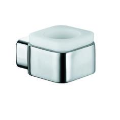 KLUDI E2 theelichthouder 4998305. Waxinelicht houder voor wandmontage wit gematteerd opaalglas.