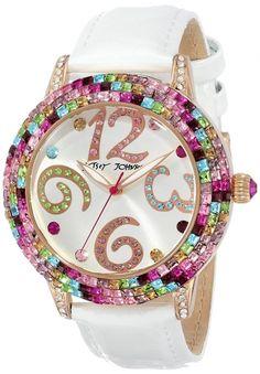 Betsey Johnson Women's Multi-Colored Watch ✦《♡》✦