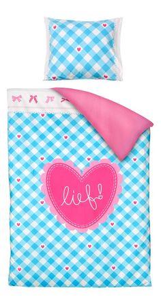Dekbedset Karlijn van lief!: vrolijk beddengoed voor de meisjeskamer #kidsroom #girlsroom