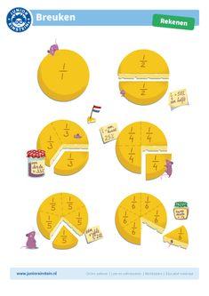 Dutch Language, School Frame, Math Multiplication, Math Numbers, Math For Kids, Math Classroom, Kids Education, Teaching Math, Preschool Activities
