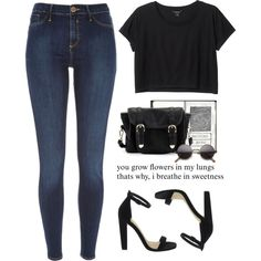 - For Paradise-101 - by lolgenie on Polyvore featuring polyvore fashion style Monki River Island ASOS Poverty Flats friends Newyork PolyvoreMostStylish Lolgenie