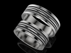Wedding Ring print model jewelry print, available in STL, ready for animation and other projects Jewelry Model, Bangles, Bracelets, 3d Printing, Rings For Men, Wedding Rings, Engagement Rings, Rings, Rings For Engagement