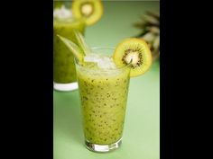 Kiwi Smoothie Recipe | How to Make Kiwi Smoothie - YouTube