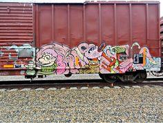 Yep, pretty much –Graffiti, Baer, Train