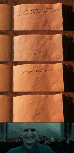 Voldemort the troll…