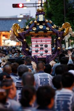Sanjya Matsuri, Tokyo, Japan 三社祭 東京
