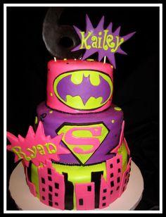 Girl Power cake.