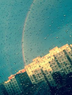 #rainbow #storm #drops #rain #bucharest #romania