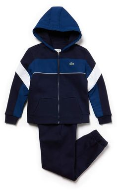 3e05f113a5e98d Boys  SPORT Fleece And Taffeta Tennis Tracksuit
