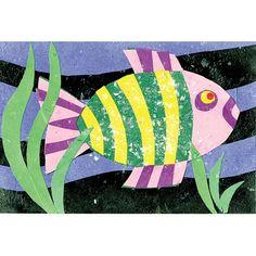 Cut Paper Aquarium - Project #40