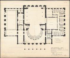 19TH CENTURY, Neo-Classicism, Germany - Karl Friedrich Schinkel (1781-1841): Schauspielhaus, 1819-21, Berlin.