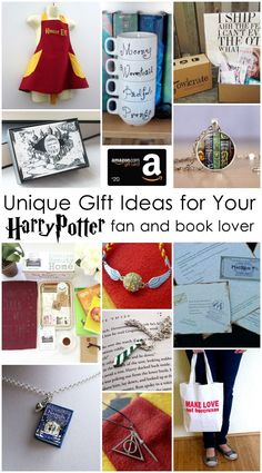 Fabulous Harry Potter Gift Ideas for your favorite wizard and book lover.