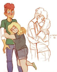 Lars and Sadie. This quickly became one of my favorite parings when I first watched Steven Universe.