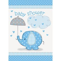 Show Some Baby Shower Love. Send Pink Elephant Baby Shower Thank You Notes to the friends and family that made your special day unforgettable. These pink, 41675 eleph Baby Shower Party Supplies, Baby Shower Parties, Baby Shower Themes, Baby Showers, Shower Ideas, Fiesta Baby Shower, Baby Boy Shower, Baby Shower Gifts, Invitation Baby Shower
