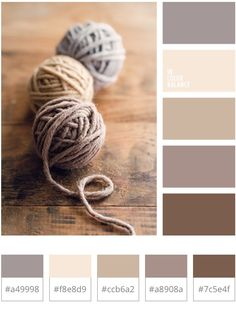 ideas for bedroom colors palette light Bedroom Colour Schemes Warm, Apartment Color Schemes, Brown Color Schemes, Warm Bedroom Colors, Warm Colours Living Room, Interior Colour Schemes, Rustic Color Schemes, Interior Design, Color Palette For Home