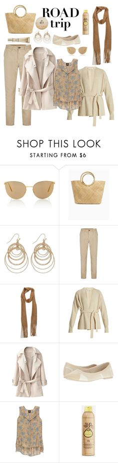"""""""Untitled #907"""" by heather-peace ❤ liked on Polyvore featuring GET LOST, Mykita, M&Co, rag & bone, Helmut Lang, Skechers, Bobeau, Sun Bum and Lancôme"""