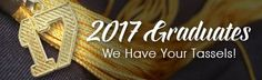 Are you having your senior photos soon? We have your tassels, class of 2017!