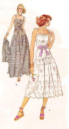 1970s Vogue American Designer Pattern 1666 Oscar De by CloesCloset, $21.00