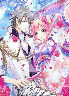 ✿ Anime couple, love  ✿