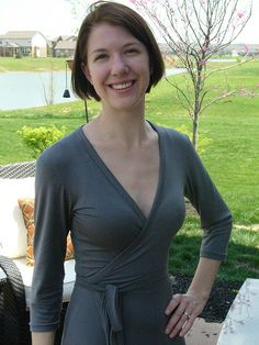 I'm thinking reversible jersey wrap dresses - no need for darting? Also jersey cowl front/back dress?