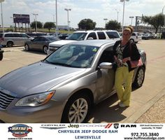 https://flic.kr/p/xzHPsj | #HappyAnniversary to Melissa and your 2013 #Chrysler #200 from Hamed Awadi at Huffines Chrysler Jeep Dodge Ram Lewisville! | www.deliverymaxx.com/DealerReviews.aspx?DealerCode=XMLJ