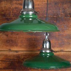 One 1940s Barn Light now featured on Fab.