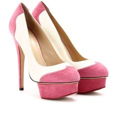 Charlotte Olympia - PLATEAU-PUMPS SPECTATOR DOLLY