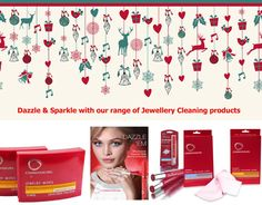 Dazzle & Sparkle with our range of Jewellery Cleaners, the perfect Stocking Filler Gift. http://www.secretfashionfixes.ie/search/connoisseurs