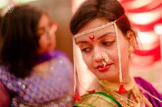 Traditional Maharashtrian Wedding Bridal Jewelry, Makeup www.weddingstoryz.com