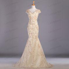 Mermaid Prom Dresses/Wedding Dresses/Wedding Gown by LandyDress, $159.00