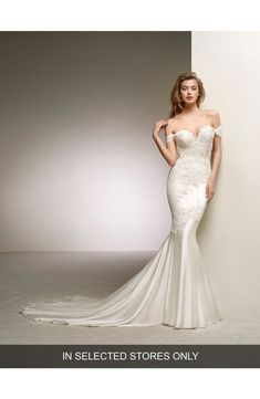 Great Gatsby 1920s Old Hollywood Glamour Y Wedding Dress Ovias Dante Off The Shoulder Sweetheart