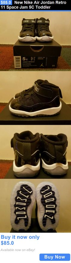 Infant Shoes: New Nike Air Jordan Retro 11 Space Jam 5C Toddler BUY IT NOW ONLY: $85.0