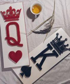 String Wall Art, Nail String Art, Arte Linear, Family Fun Games, String Art Patterns, Paper Crafts, Diy Crafts, Decoration, Diy For Kids