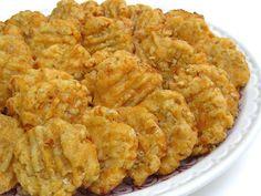YUMMY cheese wafers - from Tea With Friends: Tea Room Recipe #24 - Fort House Tea Room (Waco, Texas)