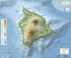 Many Wonders of Hawaii known as The Big Island