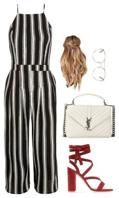 """Sans titre #1660"" by frenchystyle ❤ liked on Polyvore featuring New Look, Gianvito Rossi, Yves Saint Laurent and Chloé"