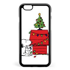 Christmas Snoopy Apple iPhone 6 / iPhone 6s Case Cover ISVB455