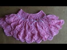 Юбочка крючком для девочки. Часть 1 . Skirt crochet for girl