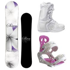 Siren Nectar 2012 Women's Snowboard Package with Flow Vega Lace Boots and Siren Leaf Bindings $289.00
