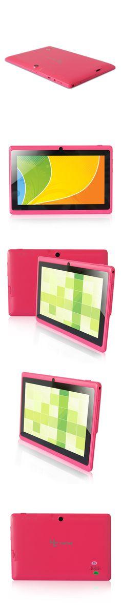Yuntab 7 inch Q88 Allwinner A33 Quad Core 512MB/ 8GB Android 4.4.2 Kids Tablet PC HD Screen 1024*600  Dual Camera Free Shipping