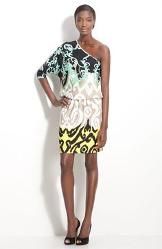 Tibi 'Jasmine' Jersey One Shoulder Dress $285