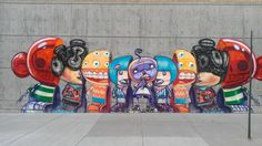 Something like those russian dolls, showing different races and different cultures.