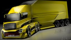 The Future Truck HOW to DRAW and RENDERING - Concept Desenho automotivo