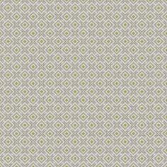 Monogram - Limestone | Kravet Yellow Fabric, White Fabrics, Fabric Decor, Fabric Design, David Hicks, Fabric Outlet, Silver Fabric, Fabric Houses, Concept Home