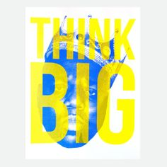 Holstee - Think Big Poster