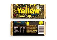 Taste of Yellow Chocolate on Packaging of the World - Creative Package Design Gallery