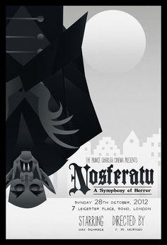 Nosferatu - movie poster - rodolforever.deviantart.com