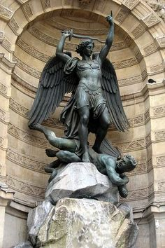 Archangel Michael patron saint of Mariners